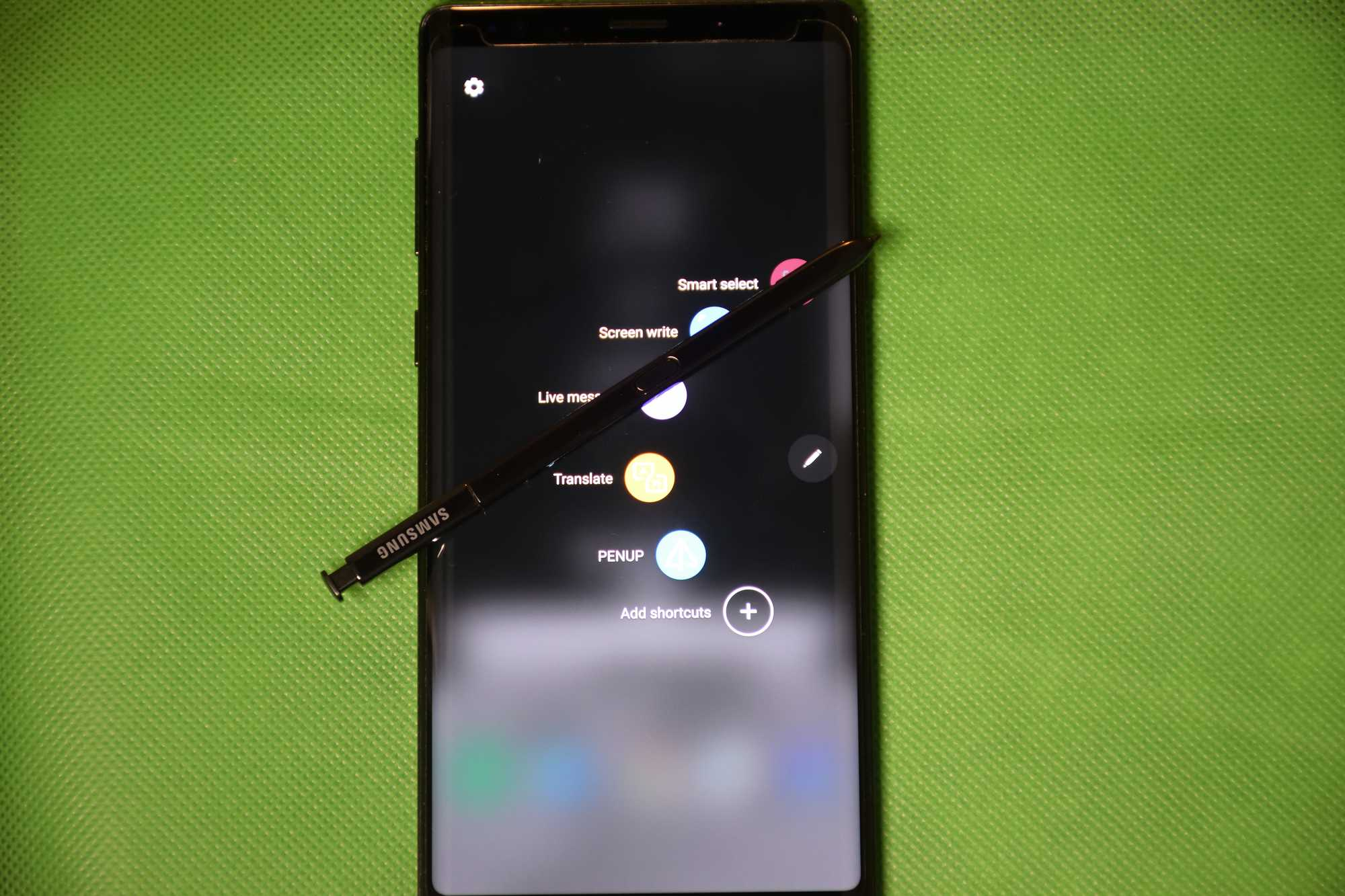 Samsung Galaxy Note 9 with S-Pen