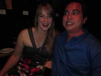 Picture of Heather Kellogg and Will Baumann.