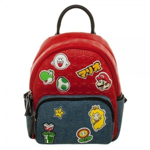 Super Mario Brothers Patches Juniors Mini Handbag