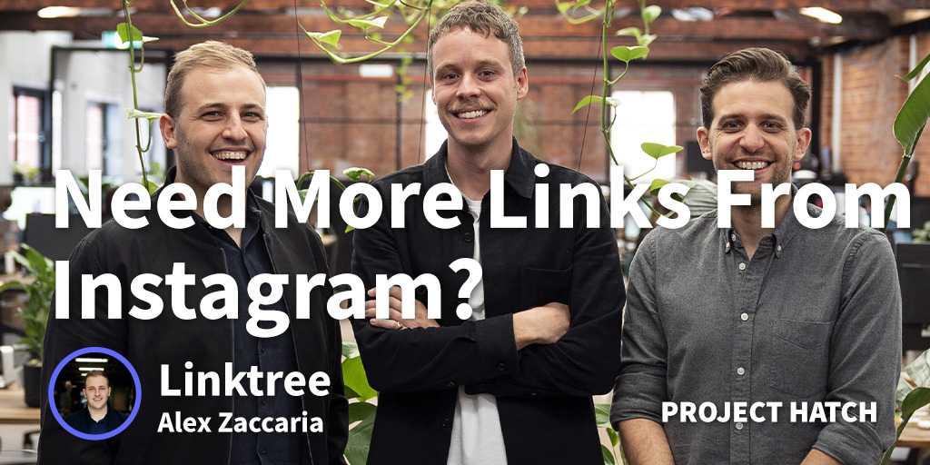 Linktree Founder Alex Zaccaria