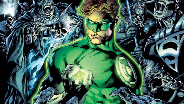 O Lanterna Verde de Geoff Johns em A Noite Mais Densa