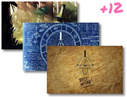 Bill Cipher theme pack