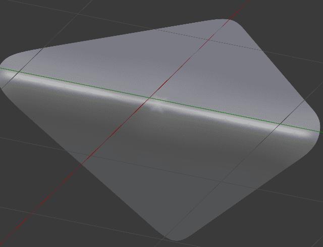 Poleをカーブが急な部分に配置する