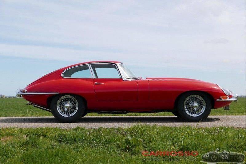 "Jaguar ""E"" TYPE G.T. 3.8 L Series 1 FHC Matching numbers FIVA ID orig. NL-Auto afbeelding 8"
