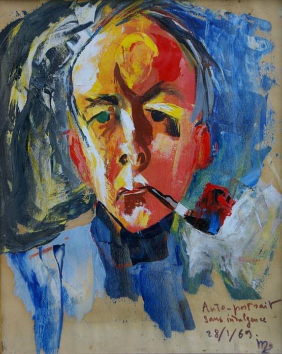 Autoportrait par Guy de Montlaur