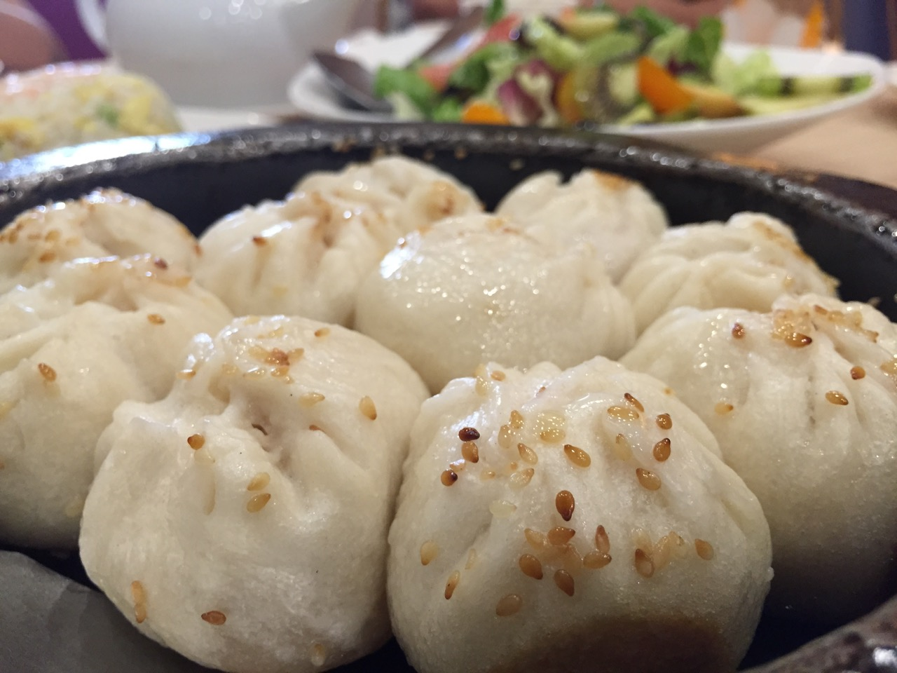 Kao Chi pan fried buns