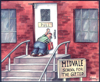 Far Side Midvale School For The Gifted