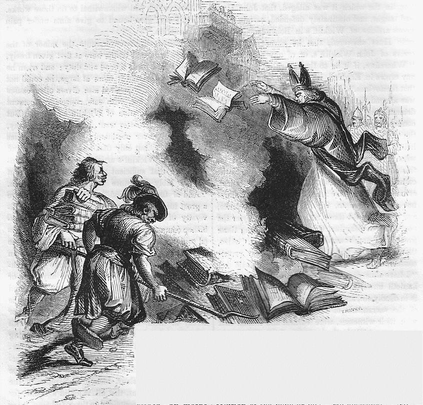 Rome burning John Huss's books