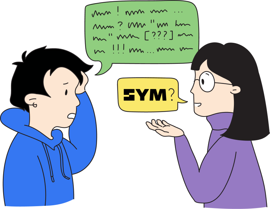 Implementing Sym as a Solution