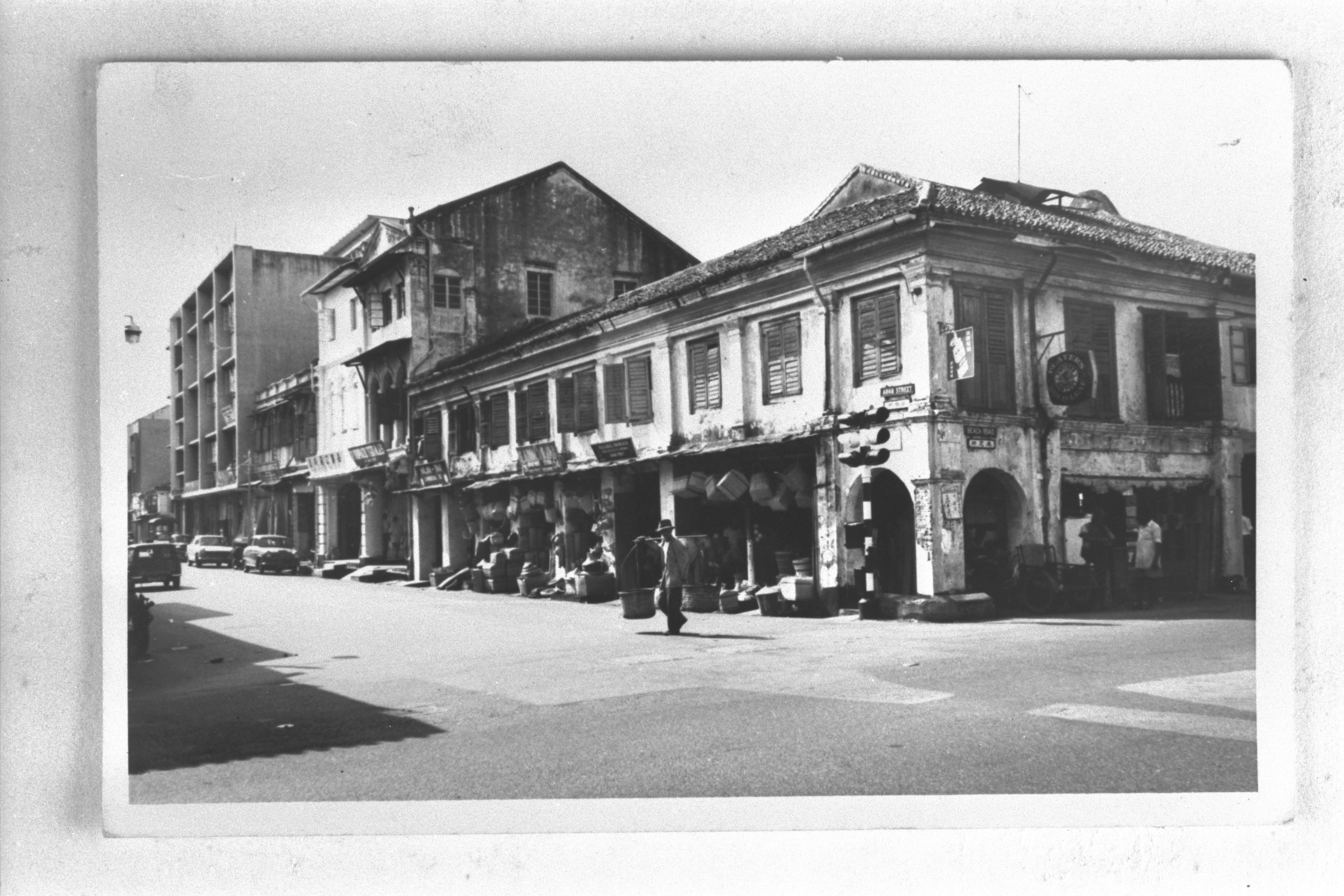 Arab Street shophouses, 1963. Courtesy of National Archives of Singapore