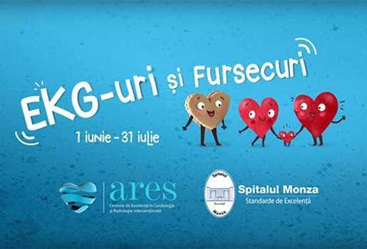 "Campania ""EKG-URI SI FURSECURI"" in cifre"