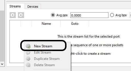 create new stream