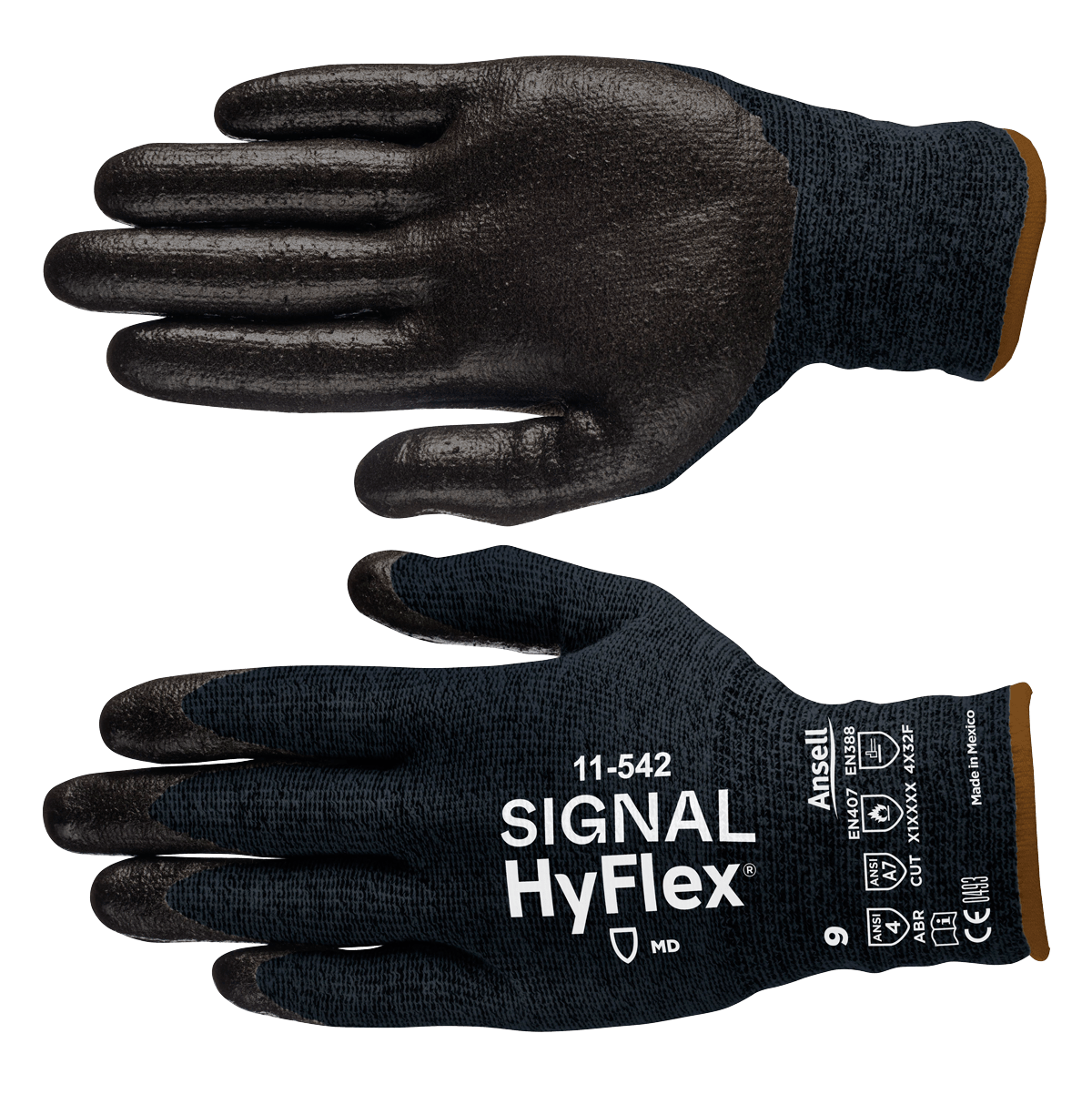 Signal custom gloves