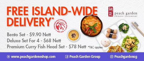 >Peach Garden