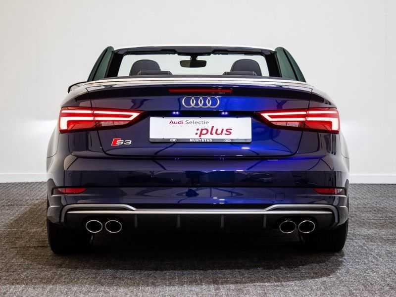Audi A3 Cabriolet 2.0 TFSI S3 quattro Pro Line Plus   B&O Sound   Massagestoelen   LED   Virtual cockpit   Nekverwarming   afbeelding 10