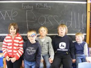 Fetlar schoolchildren