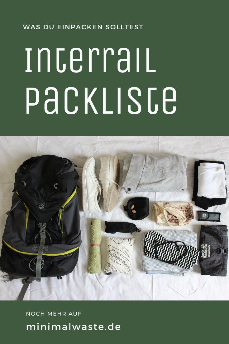 Pinterest Cover zu 'Interrail Packlist: Was du wirklich einpacken solltest'