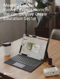 Meeting Learners' Evolved Expectations in the Competitive Online Education Sector Cover