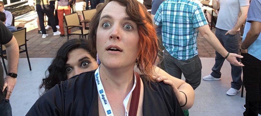 Miriam Suzanne and former OddBird Una Kravets