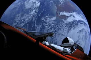 Tesla PR stunt
