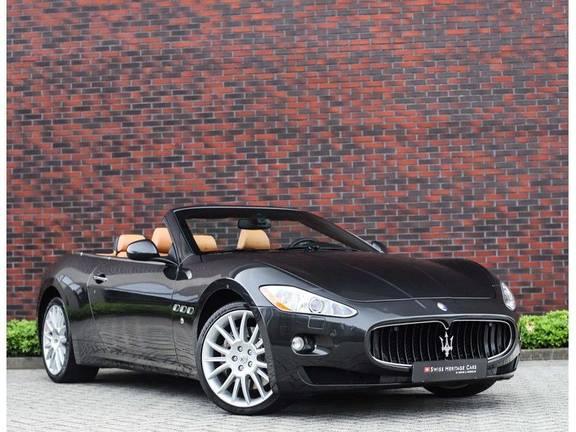 Maserati GranCabrio 4.7S *Grigio Maratta*Bose*Nieuwstaat!*