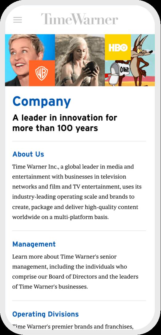 Time Warner Mobile 3