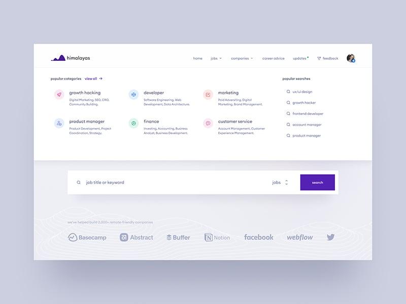 himalayas.app — meganav concept