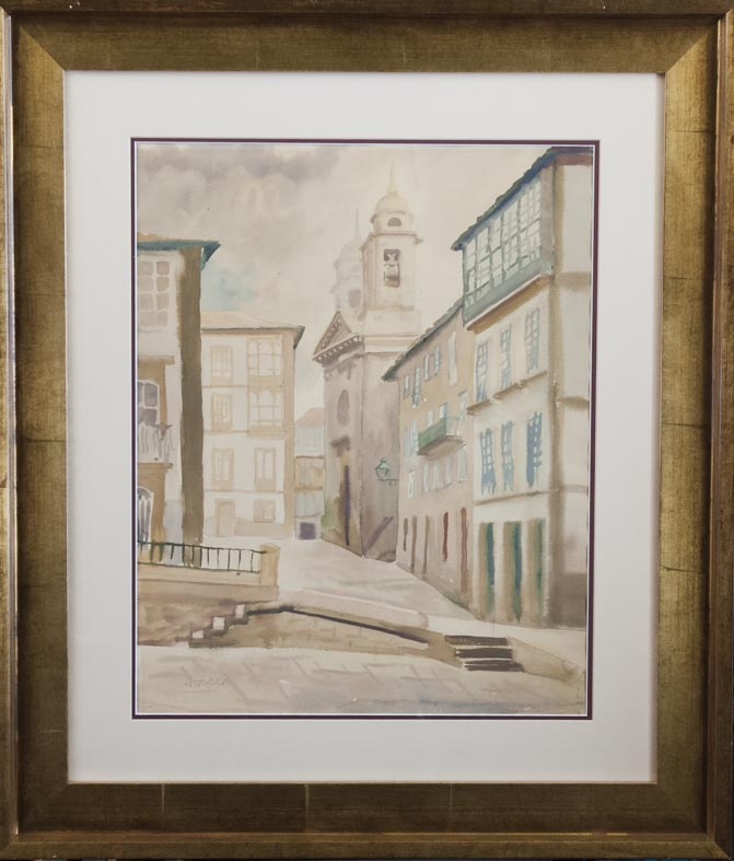 Manuel Torres - papel acuarela - 65x52 cm · acuarela/papel