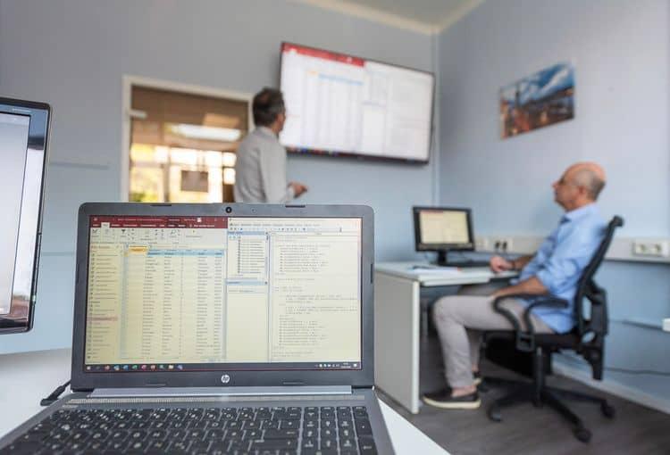 Access-Kurs im Hamburger Schulungsraum von easy data solution