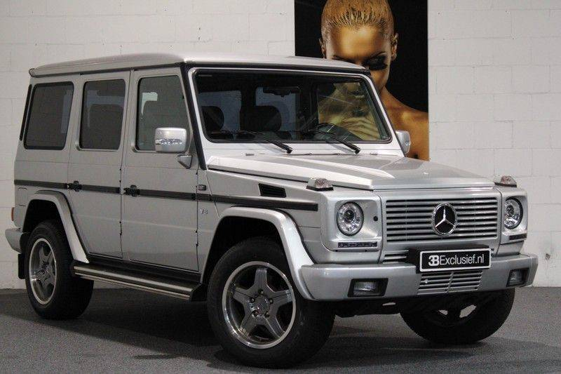 Mercedes-Benz G-Klasse 500 fabrieks 55-uitgev. Youngtimer aut. 7-zits afbeelding 1