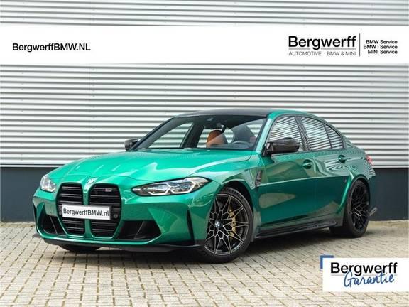 BMW 3 Serie M3 Competition - Carbon Remmen - Carbon Exterieur - Stoelventilatie - M-Driver Package