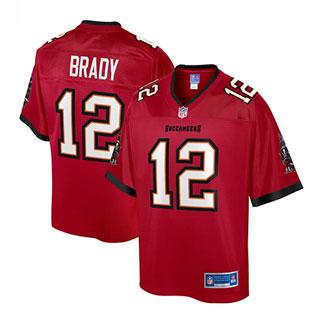 Tampa Bay Buccaneers Jersey - Tom Brady 12
