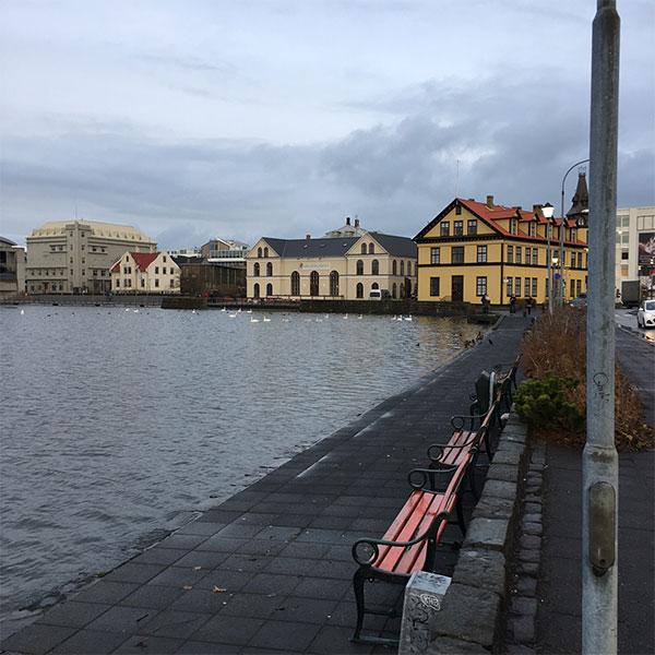 Reykjavik City Hall.