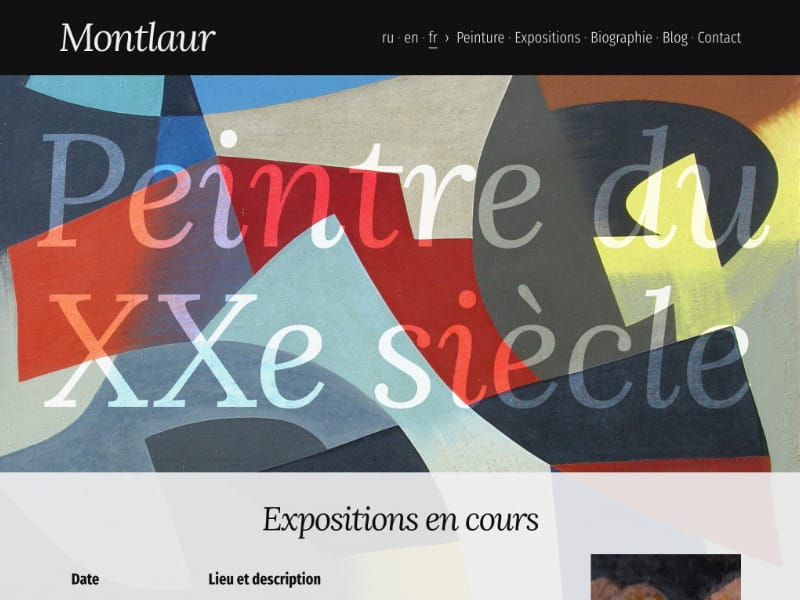 Image du post Redesign de Montlaur.net