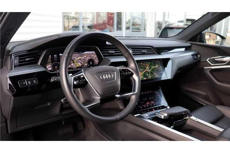 Audi e-tron 55 quattro Advanced Bang & Olufsen, Panoramadak, Head-Up Display, Soft-Close afbeelding 8