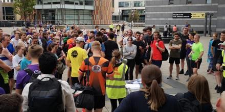 Leeds Dock Running Relay Participants