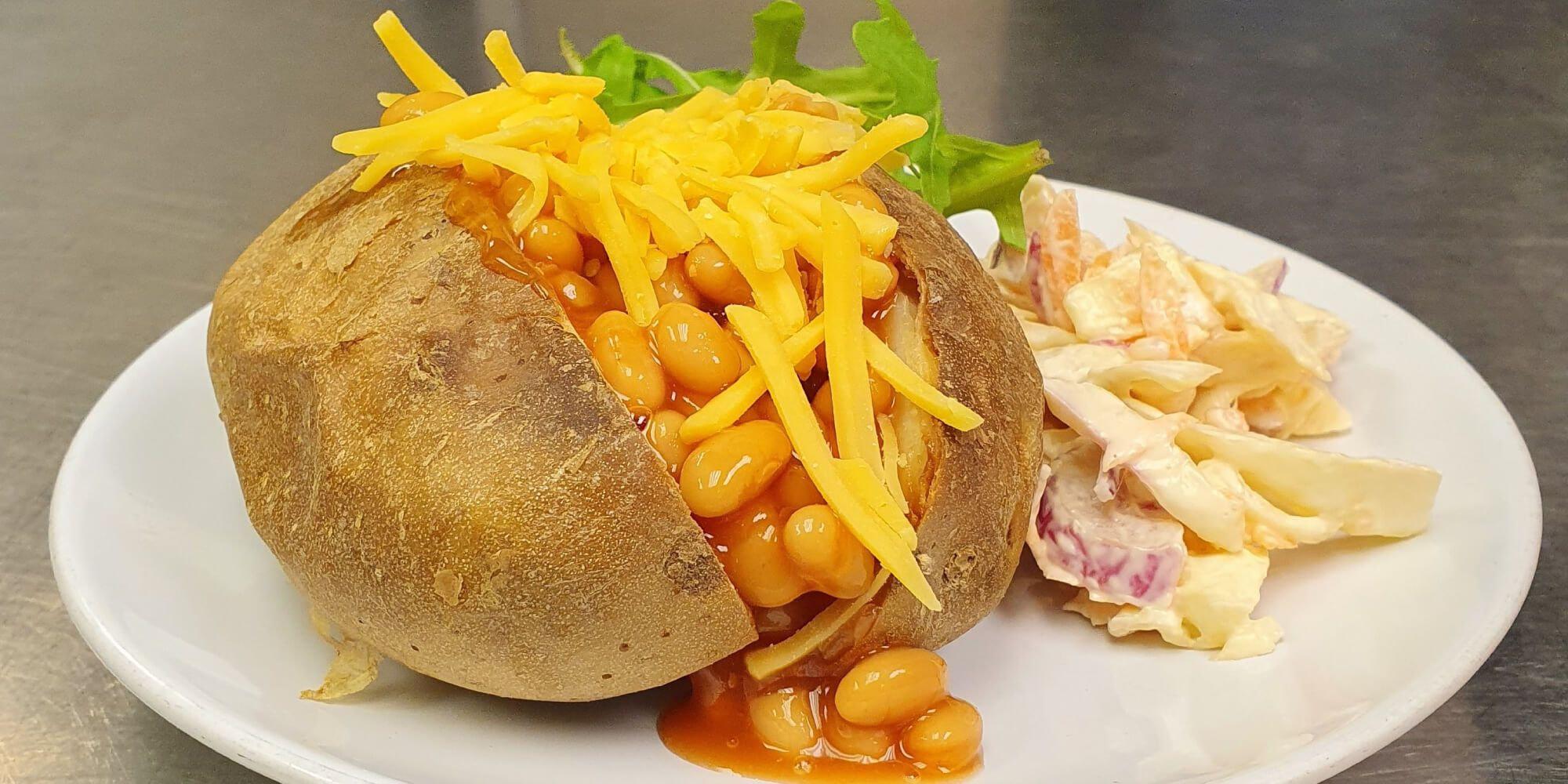 Jacket potatoes at Nosh