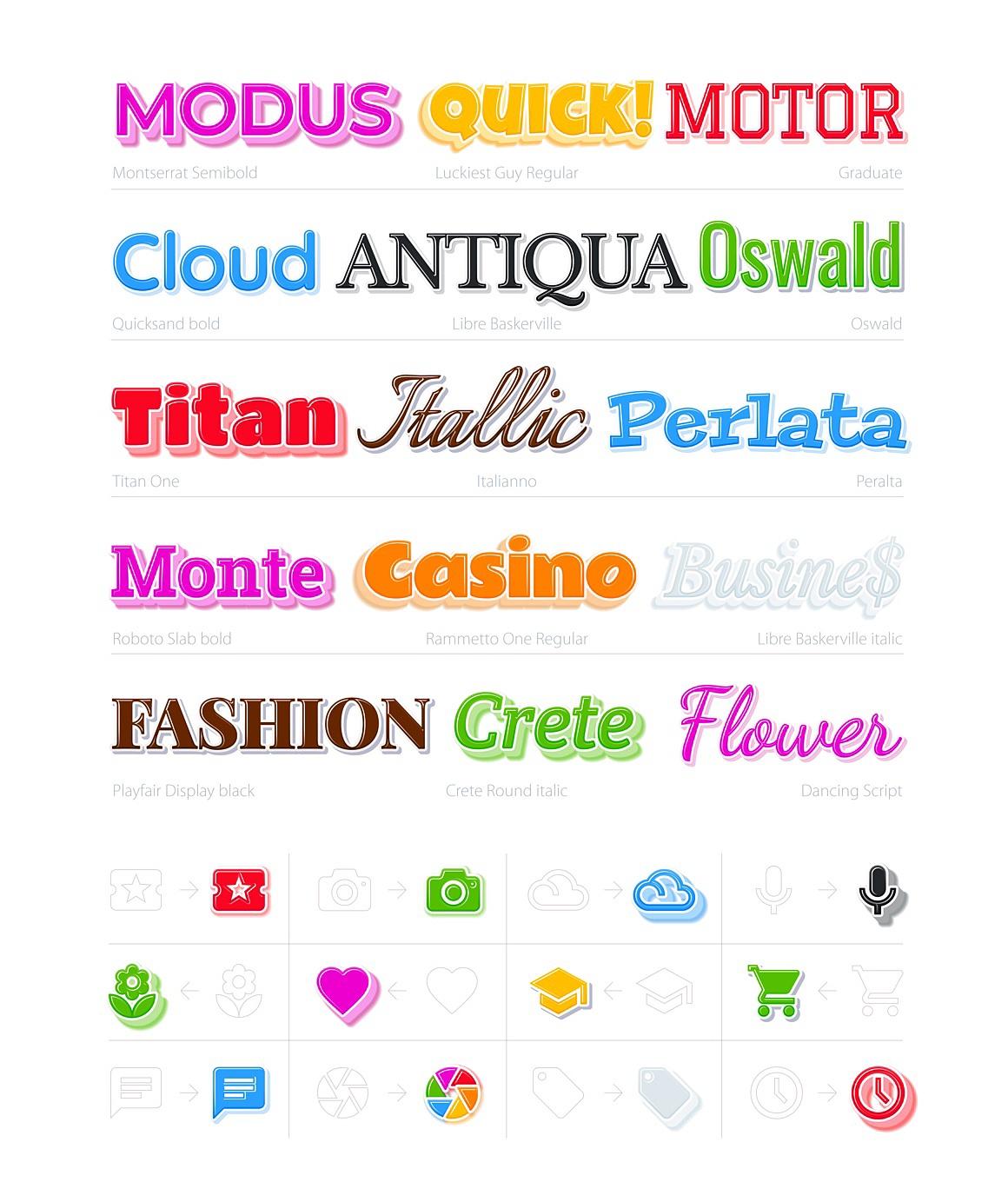 Zephir Adobe Illustrator styles images/zephir_3_ai_styles_samples.jpg