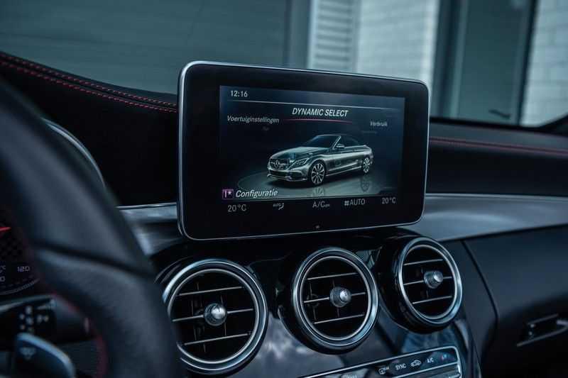 Mercedes-Benz C-Klasse Cabrio 43 AMG 4MATIC, 367 PK, Distronic Plus, Comfort/Pakket, Head/Up, LED, Airscarf, Sport/Uitlaat, 30DKM! afbeelding 24
