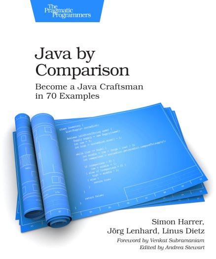 cover of the book java by comparison