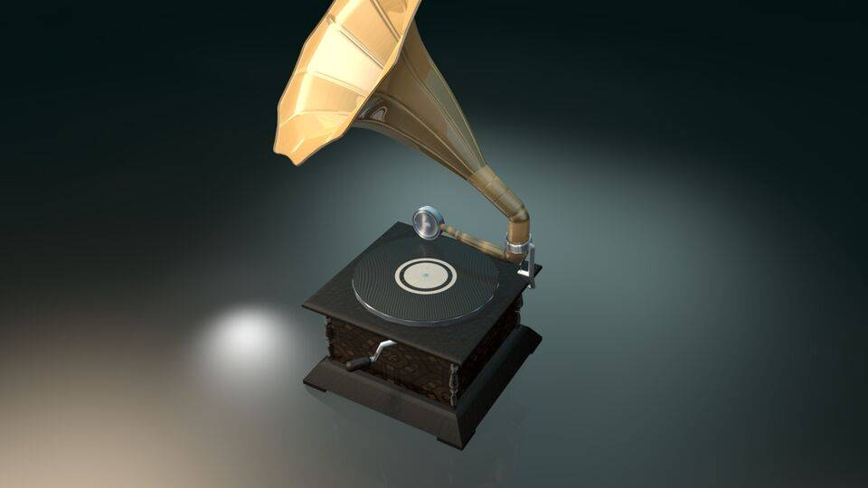 Gramophone - Top-Back