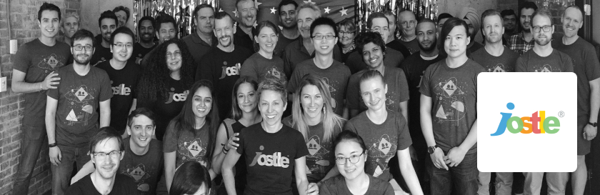 The team at Jostle