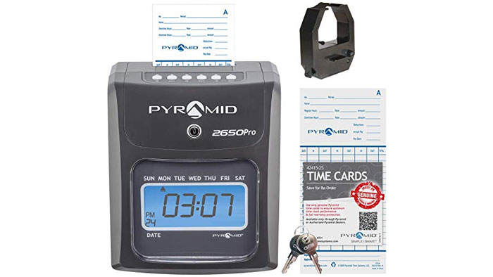 2650 Pro Non-Calculating Time Clock