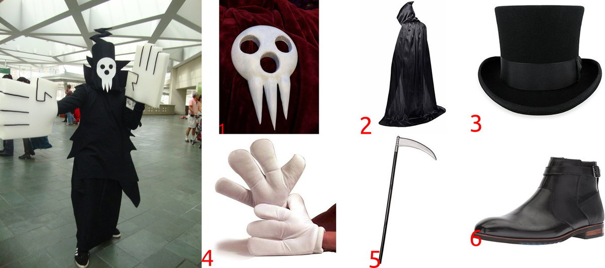 Lord Death Costume for Cosplay & Halloween
