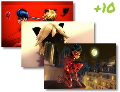 Miraculous Tales of Ladybug and Cat Noir theme pack