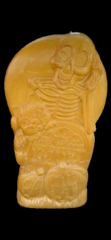 Skeleton/Tombstone photo