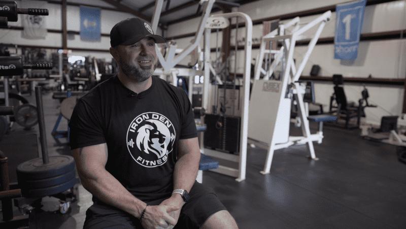 Case Study Testimonial Iron Den Fitness Billy Jones