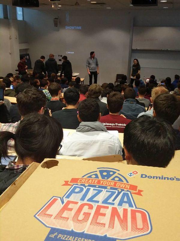 Microsoft + Pizza