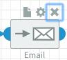 Component cross icon