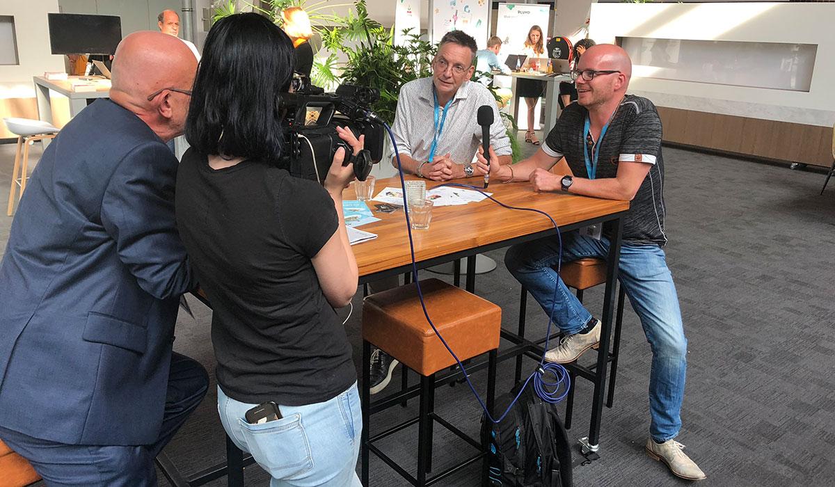 Next Learning 2020 - Jildert van Yperen en Jan van der Koog geïnterviewd voor de aftermovie